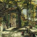 Peder Monsted - In the Pergola