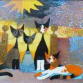 Rosina Wachtmeister - In Front of her Estate